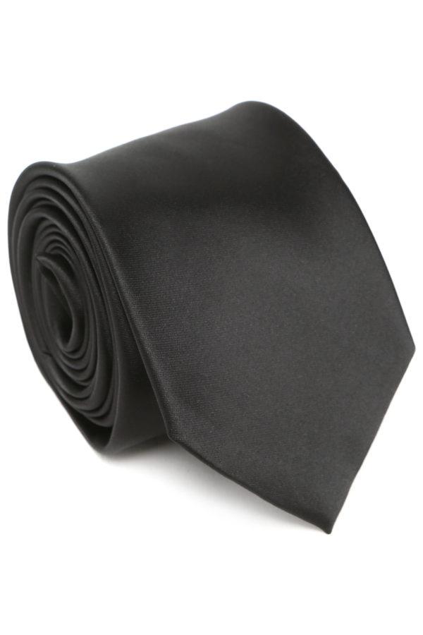 Галстук черный Patrikman