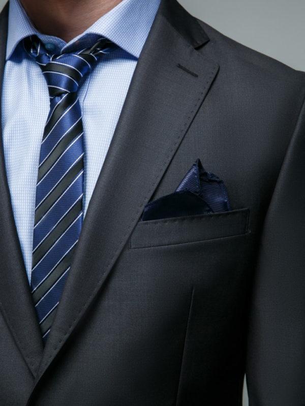 HENSON Мужской костюм серый.