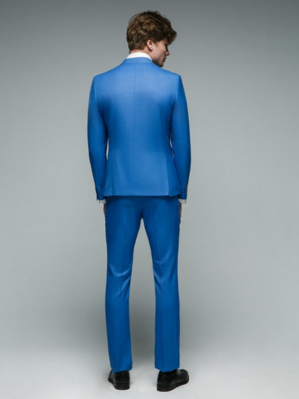 MODENA Мужской костюм голубой.